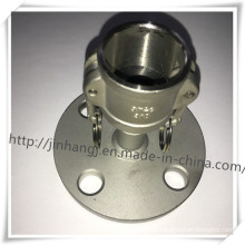 Stainless Steel Type C Flange Quick Connector